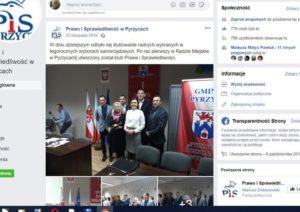 Słodkowska była w klubie radnych PIS?