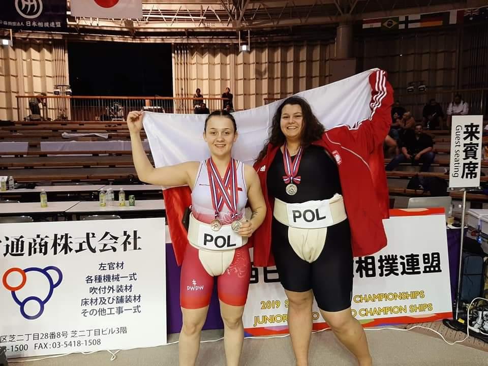Wspaniały występ zawodniczek LKS Spartakus Pyrzyce na Mistrzostwach Świata Juniorek w sumo