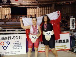 Read more about the article Wspaniały występ zawodniczek LKS Spartakus Pyrzyce na Mistrzostwach Świata Juniorek w sumo