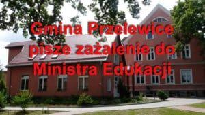 Gmina Przelewice składa zażalenie na kuratora