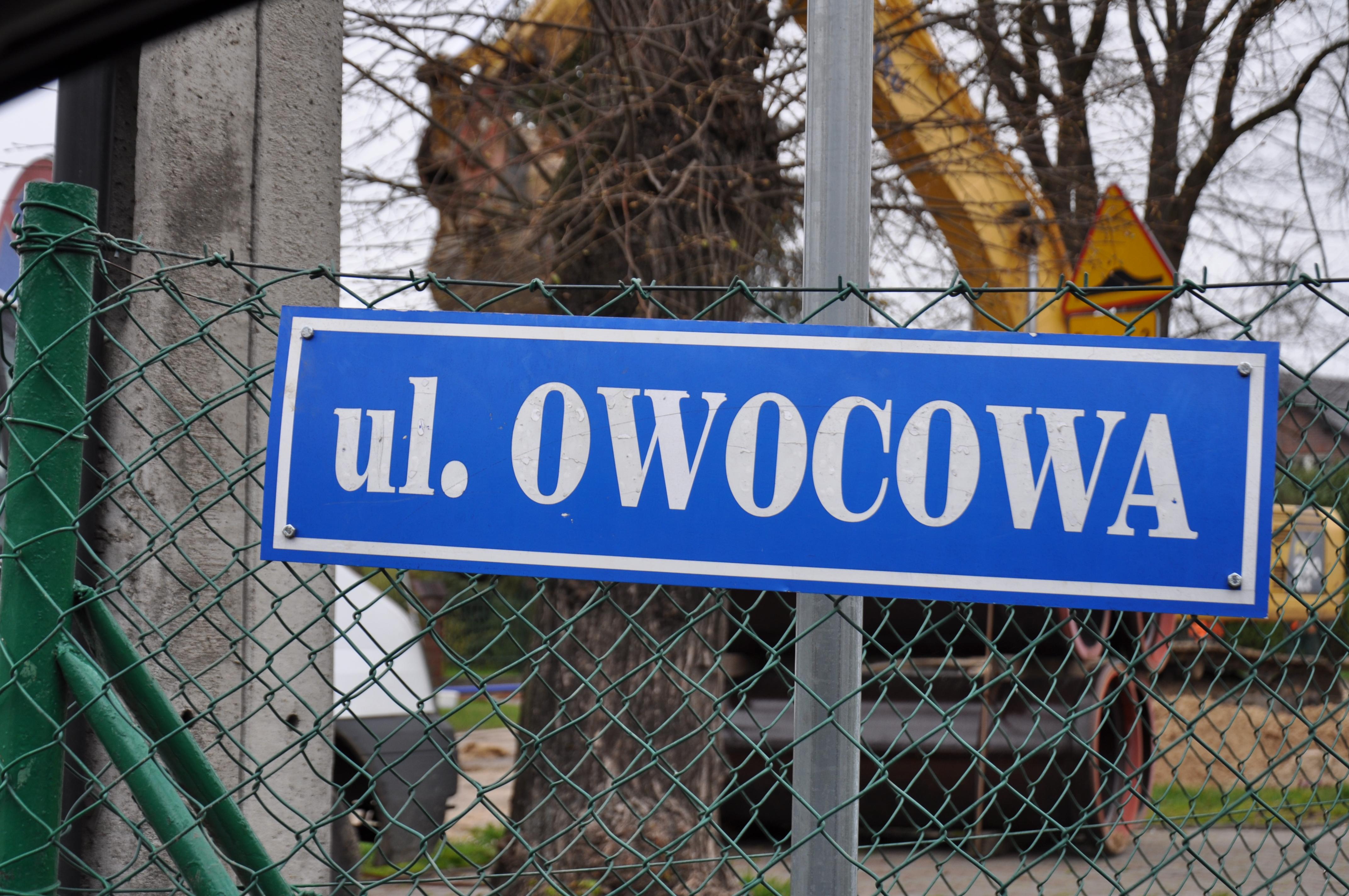 Ulica Owocowa w Pyrzycach będzie remontowana