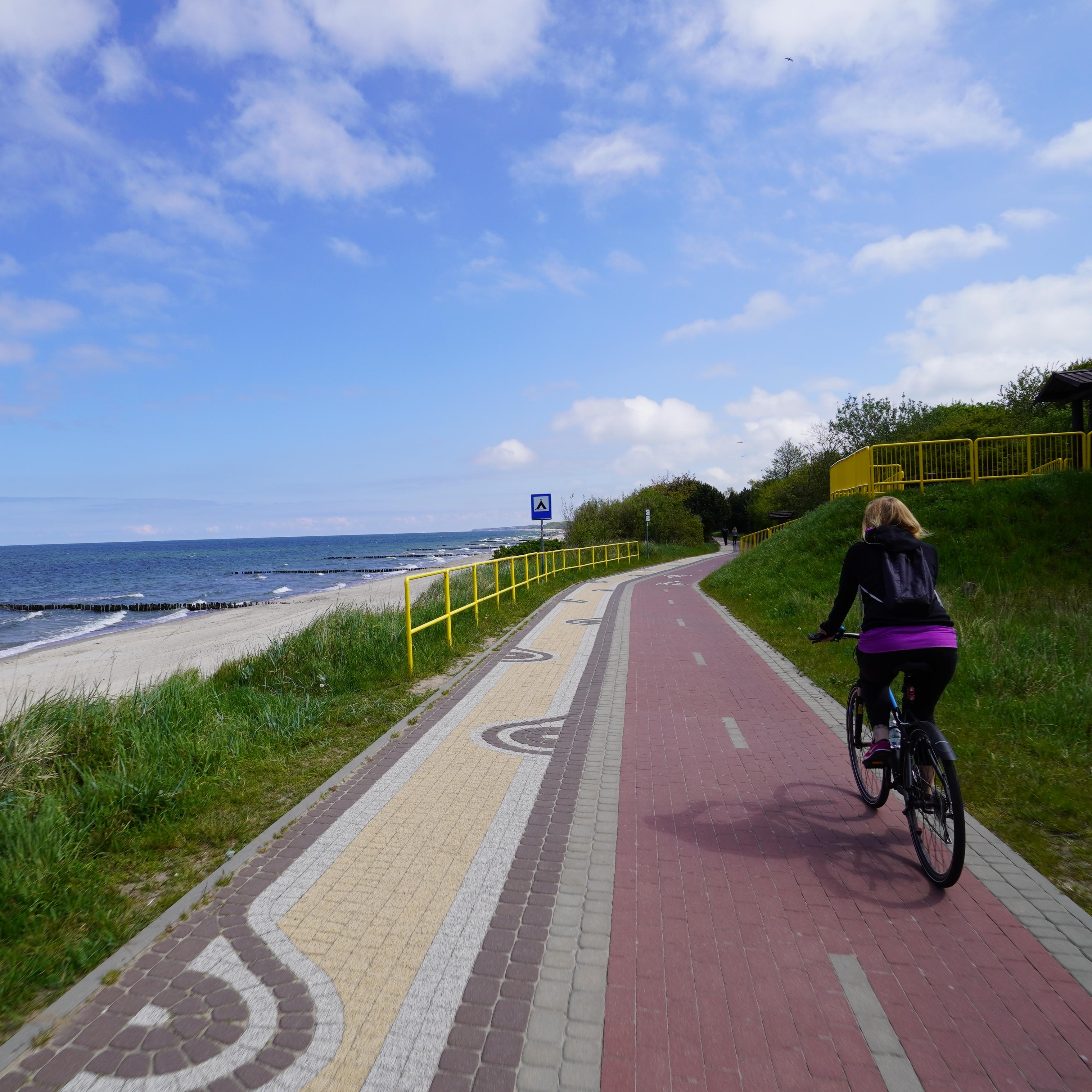 Read more about the article Zielone fundusze dla Pomorza Zachodniego. Ponad tysiąc kilometrów tras dla rowerzystów.