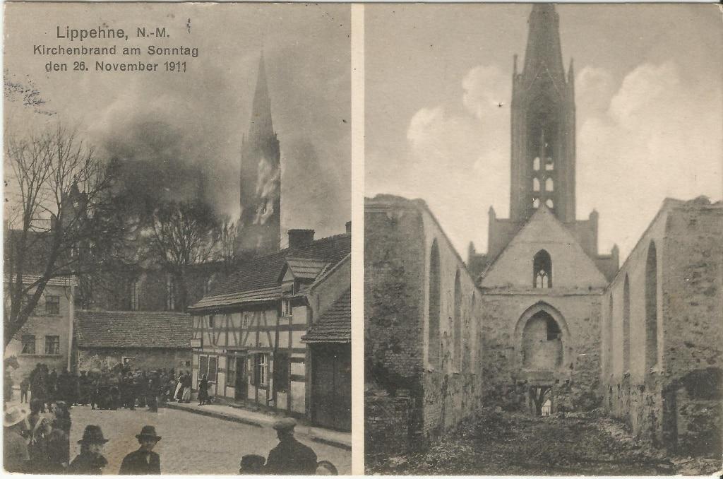 Ta nieszczęsna niedziela: 26 – tego listopada 1911 roku – w obiektywie lipiańskiego fotografa