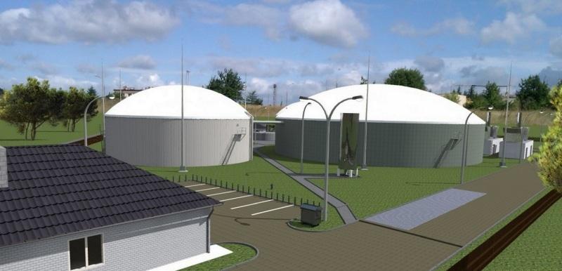 Biogazownia z opóźnionym zapłonem