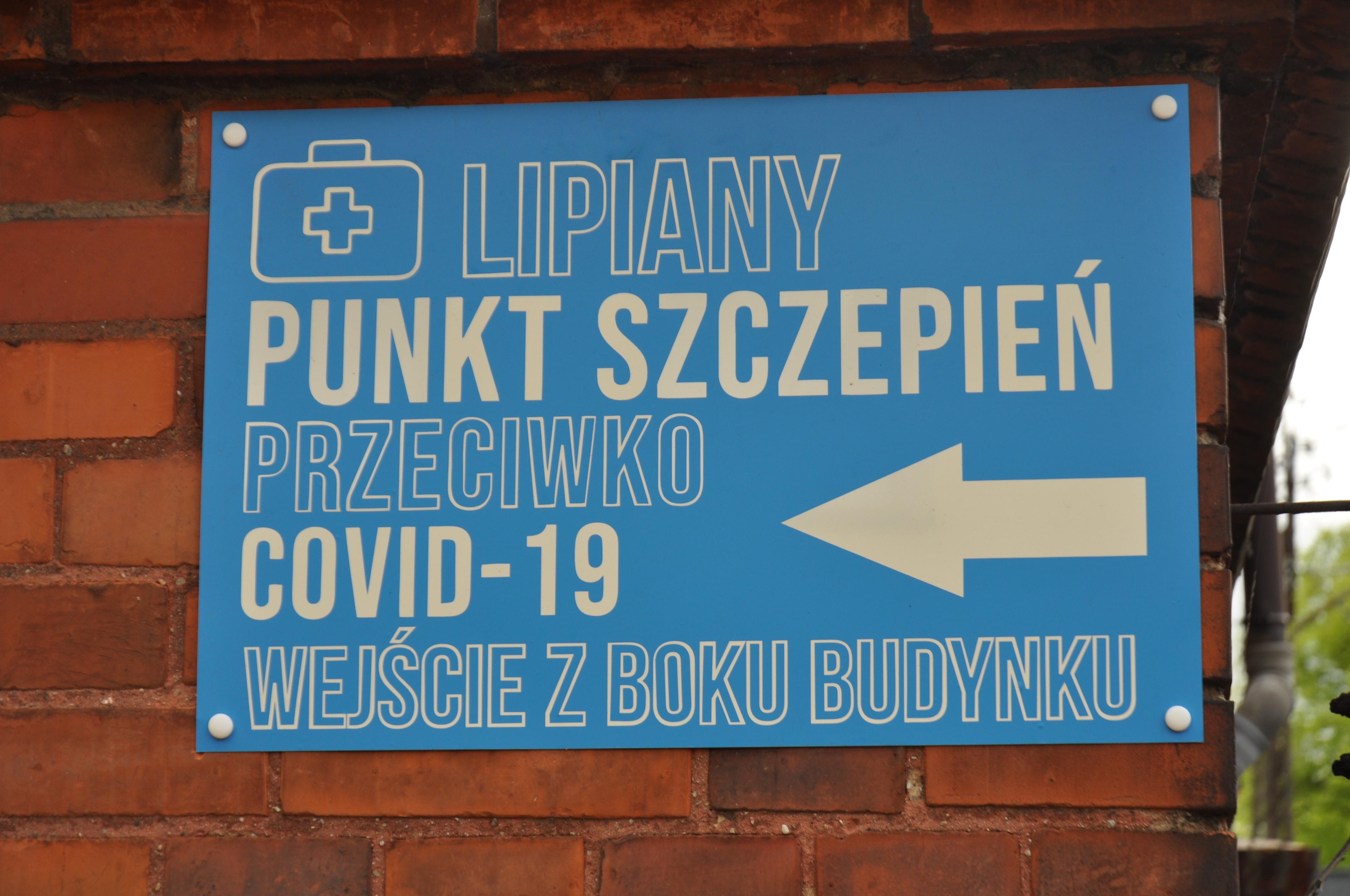 Przychodnia w Lipianach rozdaje 1000 sztuk Pfizera