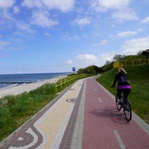 Zielone fundusze dla Pomorza Zachodniego. Ponad tysiąc kilometrów tras dla rowerzystów.